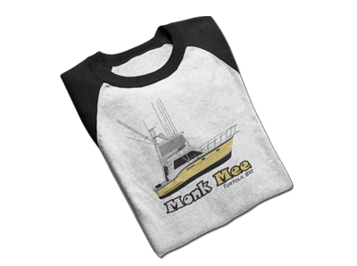 An image of delivered custom yacht gear from customyachtshirts.com
