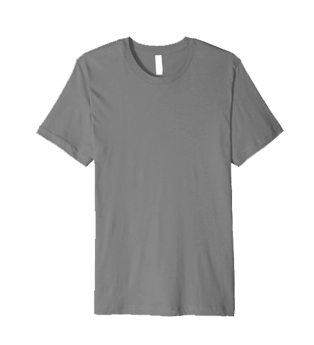 An image of the premium, fitted t-shirt available at CYS.