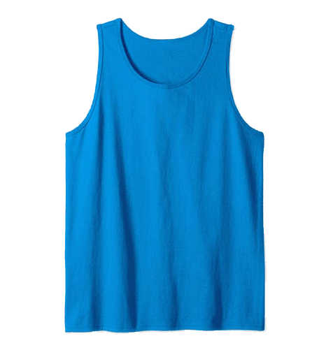 An image of the tanktops available for your custom yacht products.