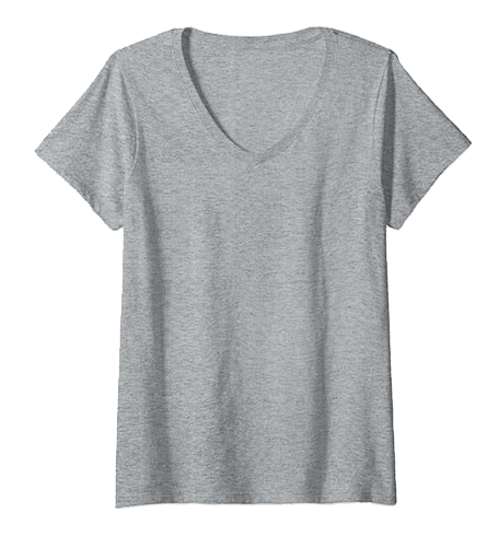An image of the v-neck t-shirts available from Custom Yacht Shirts.