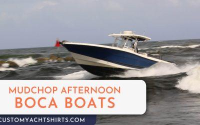 Mudchop Afternoon Boat Action at Boca Inlet