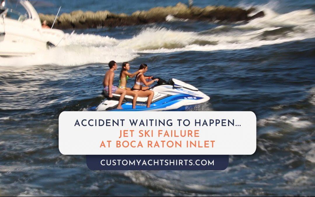 Jet Ski Fails at Boca Raton Inlet