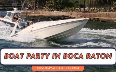Boat Party in Boca Raton