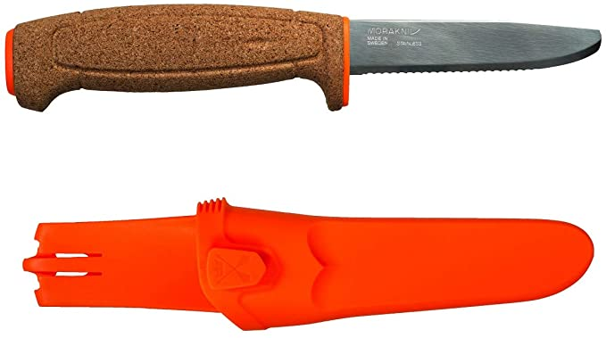 An image of Morakniv Floating Fixed-Blade Fine Edged Kinife, perfect for boaters.