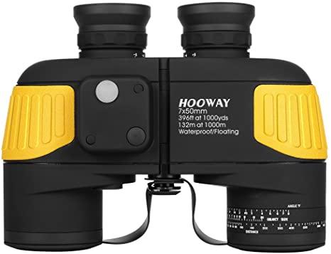 An image of the Hooway Marine Binoculars available on Amazon.