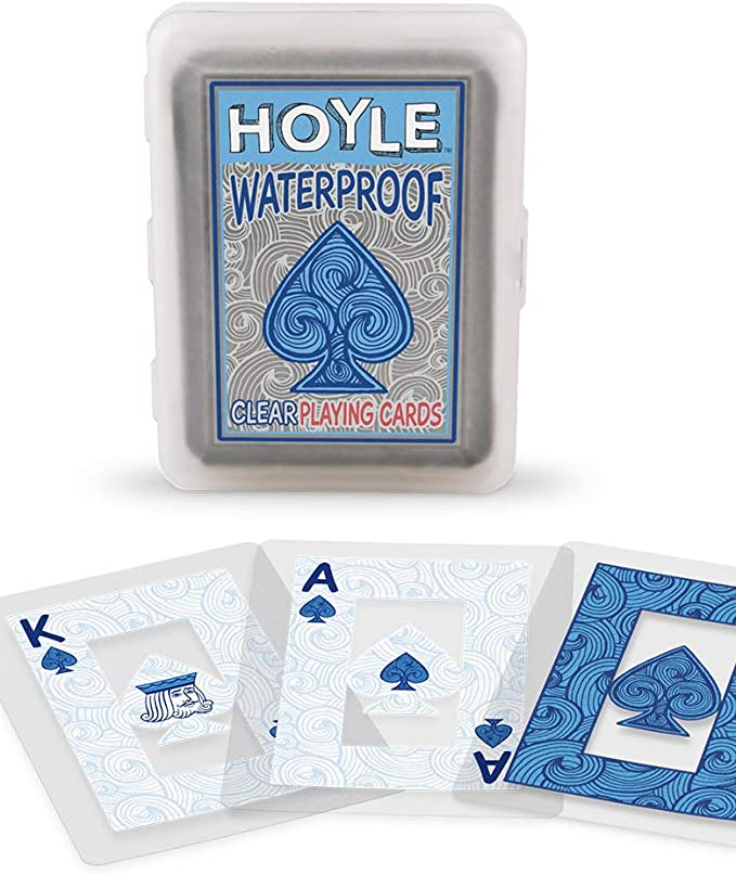 An image of the Hoyle Waterproof PLaying cards. A perfect gift for boat owners..
