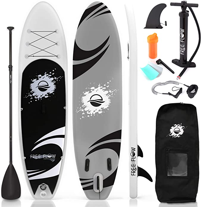 An image of an inflatable paddleboard perfect as a gift for boat owners.