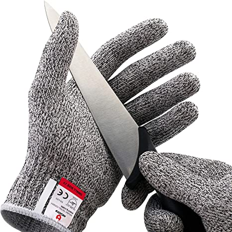 An image of NoCry Cut Resistance Gloves available on Amazon.