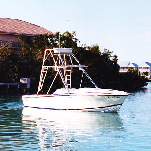 The Original Photo of the 24' Blackfin Reel Estate Boat