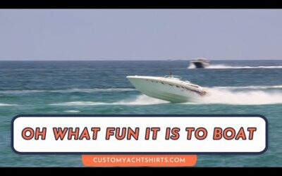 Oh What fun it is to boat