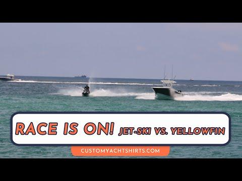The race is on! Jet-Ski vs. Boat
