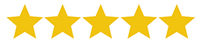 An image of 5 star reviews for Custom Yacht Shirts