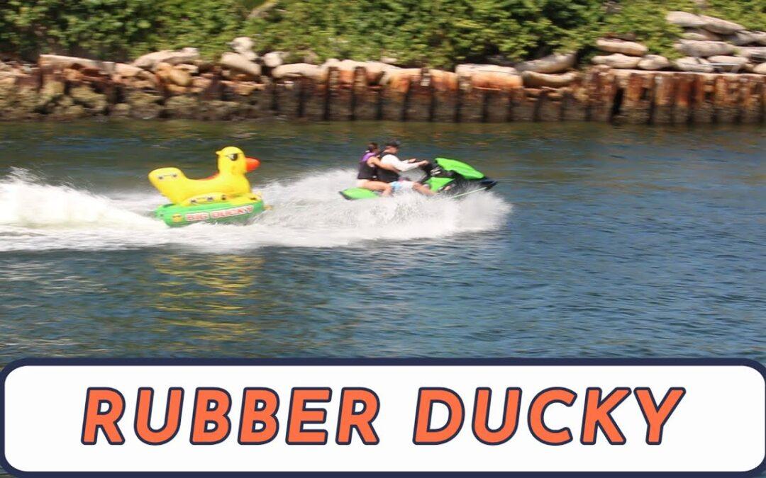 Rubber Ducky boat
