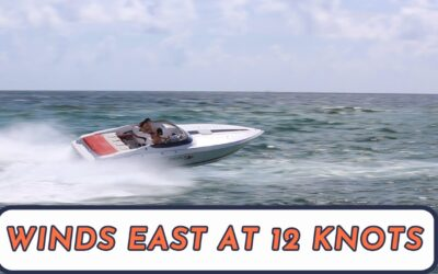 Winds in the east at 12 Knots